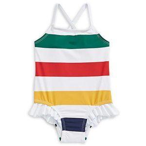 12-18M Hbc Stripes Toddler One-Piece Swimsuit